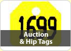 Auction Sales & Hip Tags