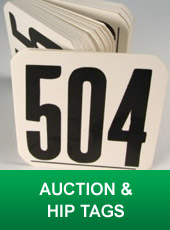 Auction Hip Tags