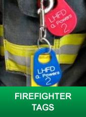 Firefighter Tags