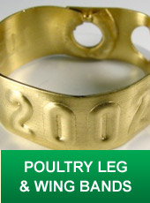 Poultry Leg and Wing Bands