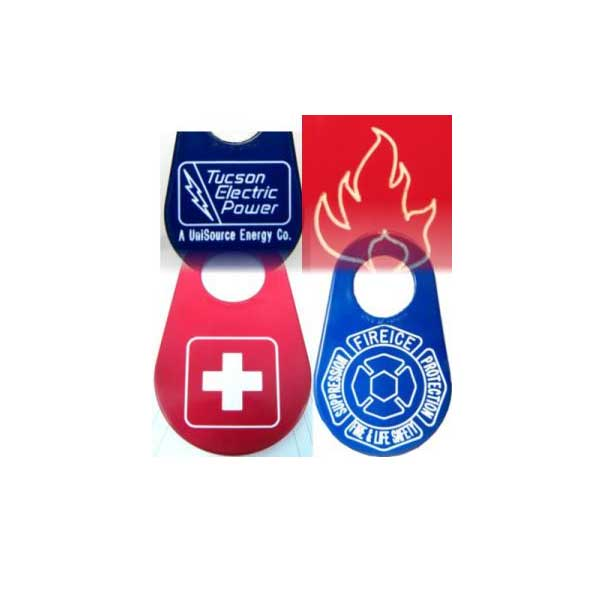 Custom nylon logo tags