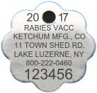 View: 2017 Plain Aluminum Rosette