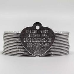 aluminum rabies tag - 2020