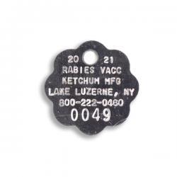 steel rabies tags